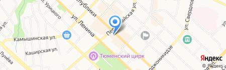 Техномир на карте Тюмени