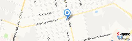 МАРКИЗЫ И ТЕНТЫ на карте Тюмени