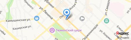 Сангарантия на карте Тюмени