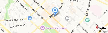 Flip & Case на карте Тюмени