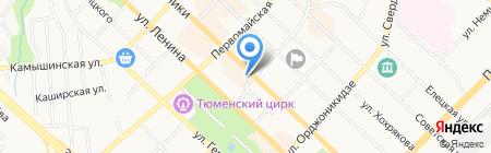 ЗапСибНИИГГ на карте Тюмени