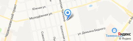 Sofi на карте Тюмени