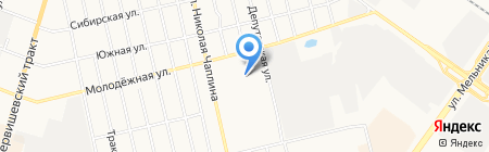 Агат на карте Тюмени