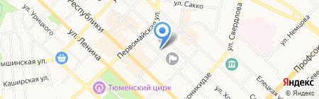Банк Русский Стандарт на карте Тюмени