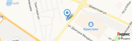 Компания Тюменьспецстрой на карте Тюмени