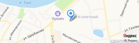 ЭЛТОК-ТЮМЕНЬ на карте Тюмени
