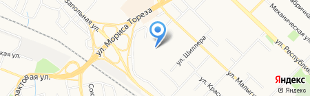 Детский сад №183 на карте Тюмени