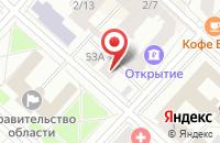 Схема проезда до компании Ук  в Тюмени