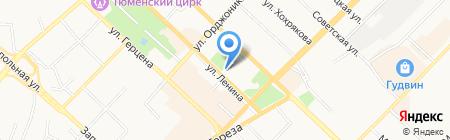 Адвекс-Т на карте Тюмени