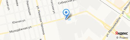 Северный сосед на карте Тюмени