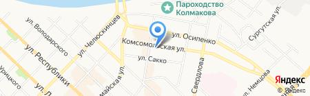72ПАКЕТ на карте Тюмени