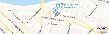 Инвекс на карте Тюмени