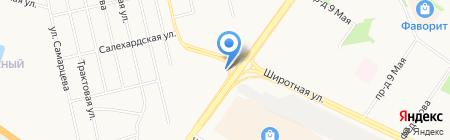 ЛЕО на карте Тюмени