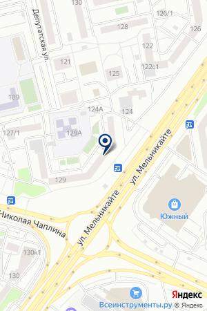 МАГАЗИН КОТИК В САПОГАХ на карте Тюмени