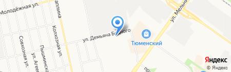 Абсолют-II на карте Тюмени