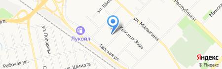 ПАРТНЕРЫ на карте Тюмени
