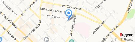СМУ-20 на карте Тюмени