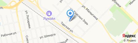 ТюменьСтражСервис на карте Тюмени