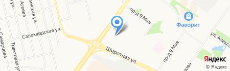 Carte D`or на карте Тюмени