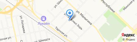 Anabel на карте Тюмени