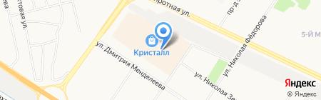 Имидж Оптика на карте Тюмени