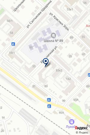 Фаст Мастер на карте Тюмени