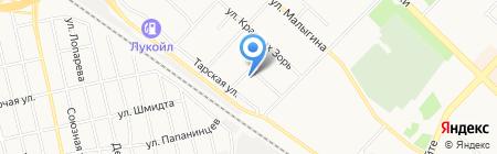 МАЯК-Системы Безопасности на карте Тюмени