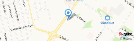 Центр Камня на карте Тюмени