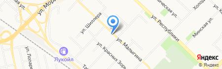 Банкомат АКБ СОЮЗ на карте Тюмени