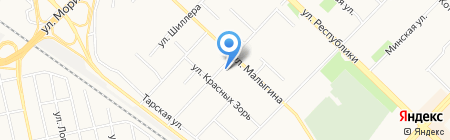 Управление Федеральной службы РФ по контролю за оборотом наркотиков по Тюменской области на карте Тюмени