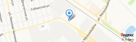 Железный мастер на карте Тюмени