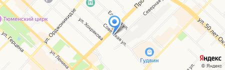 ВИПСИЛИНГ на карте Тюмени