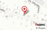 Схема проезда до компании Комплектремстрой в Березовке