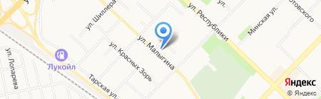 Холодофф Т на карте Тюмени