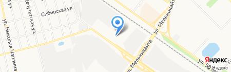 Арго-Дизайн на карте Тюмени