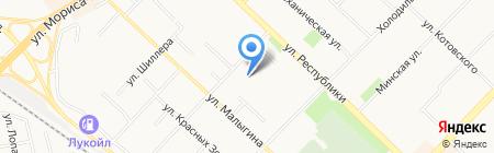 Тюменьпожсервис-Т на карте Тюмени