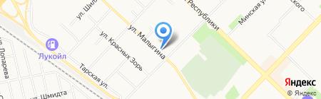 Ермолинские продукты на карте Тюмени