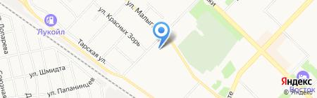 СеВеР на карте Тюмени