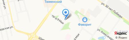 Бьюти на карте Тюмени