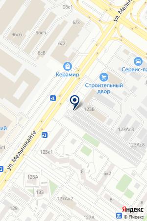 Осьминог 999 на карте Тюмени