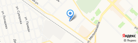 АВТОСТЕКЛА на карте Тюмени