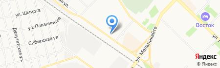 ЛЕССТРОЙУРАЛ на карте Тюмени