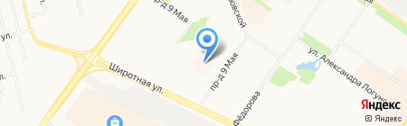 Городская поликлиника №14 на карте Тюмени