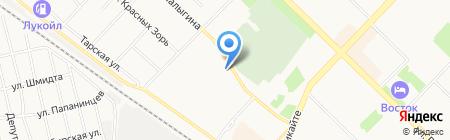 Стрит-Медиа на карте Тюмени