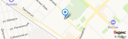 Чемодан-Тур на карте Тюмени