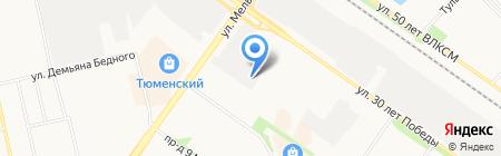 АРСЕНАЛ БЕЗОПАСНОСТИ на карте Тюмени