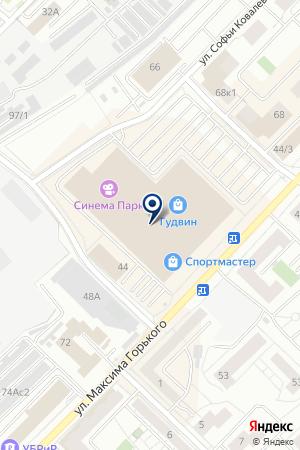 МАГАЗИН CHESTER (ЧЕСТЕР) на карте Тюмени