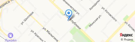 ОТП Банк на карте Тюмени