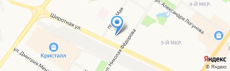 Грузчиков Сервис-Тюмень на карте Тюмени