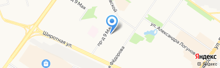 ХАНТЫ-МАНСИЙСКИЙ БАНК ОТКРЫТИЕ на карте Тюмени
